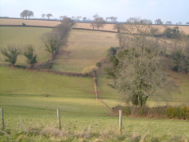 Valley below Holcombe Down