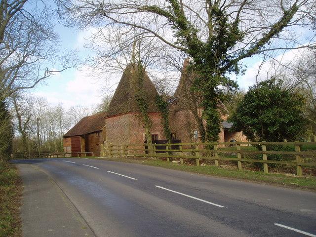 Oast  Houses, Thorne Farm, Bethersden, Kent