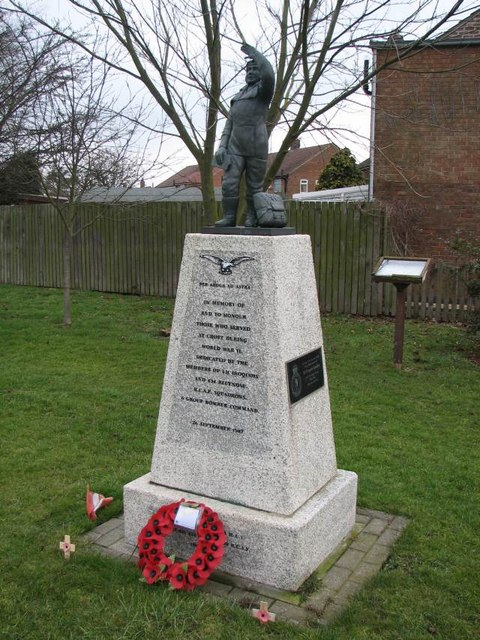 Memorial to 6 Group RCAF Squadrons