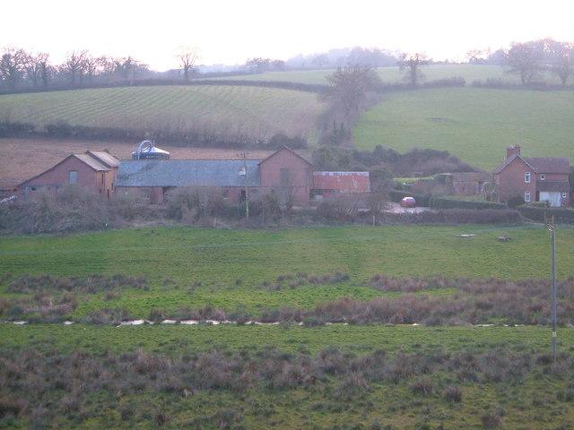 Weston Farm, Higher Dawlish Water