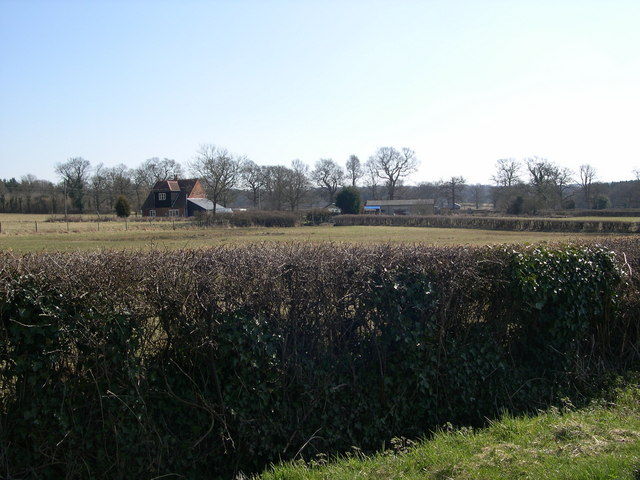 Farmhouse from Beckford Lane