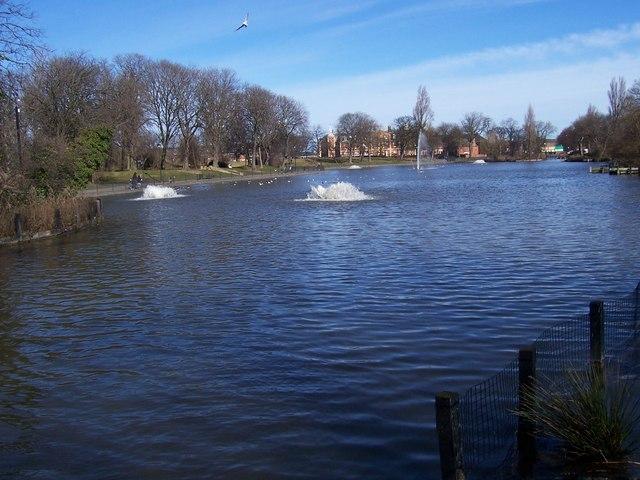 Lower Lake, Albert Park, Middlesbrough