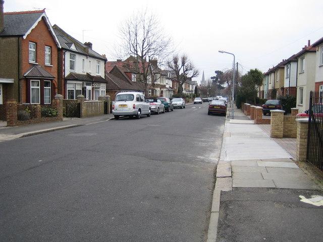Surbiton: Cotterill Road