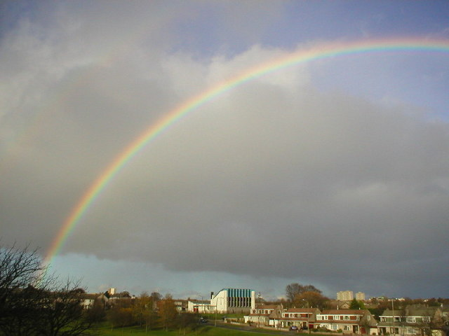 Rainbow over Summerhill