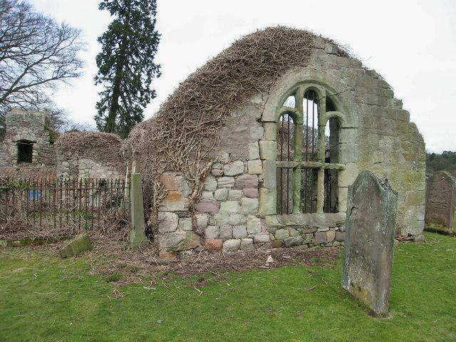 Graveyard at Ayton, near Berwick-upon-Tweed