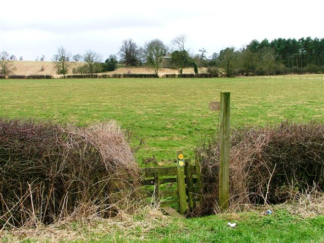 Footpath to Kirby Sigston Church
