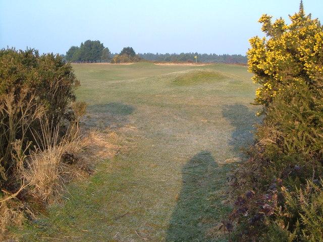 Teignmouth golf course