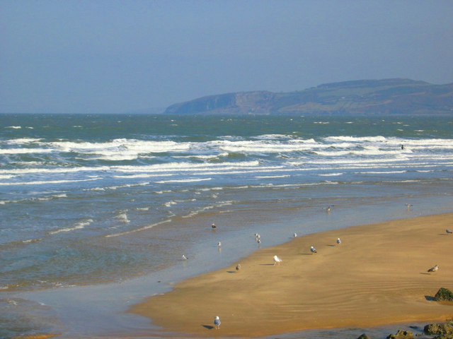 Northeasterly in Benllech