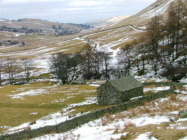 Barn Overlooking Aira Beck