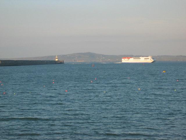 Stena Explorer arriving in Holyhead