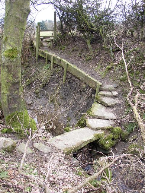 Footbridge at SE03764785, Silsden