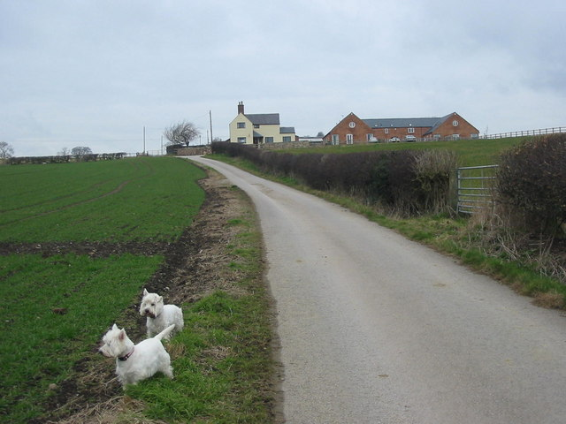 Glebe Farm  just north of Breadsall village