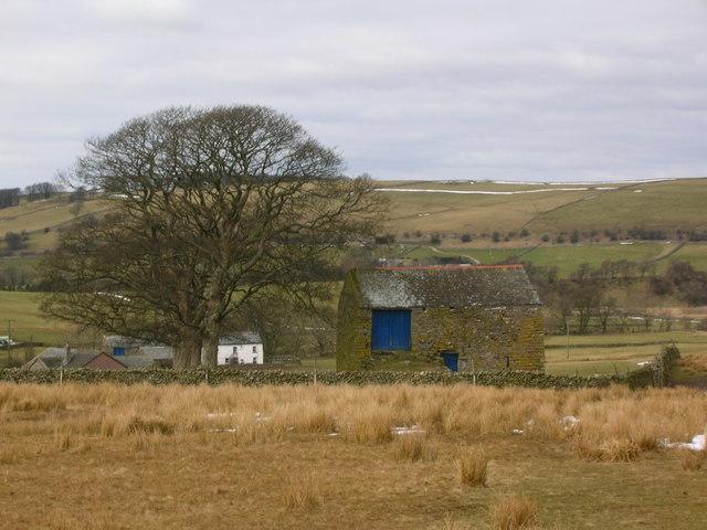 Barn near Bowderdale
