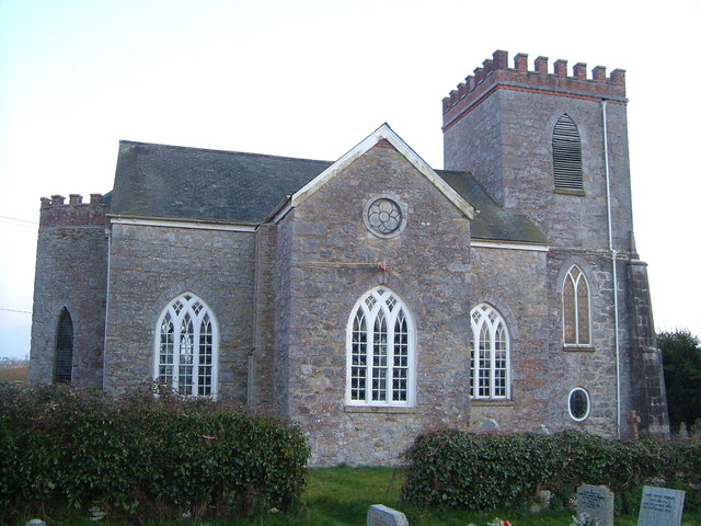 St Peter and St Paul, Teigngrace