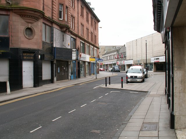 High St, Kirkcaldy. North end