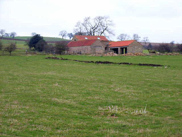 Barn near Hunton
