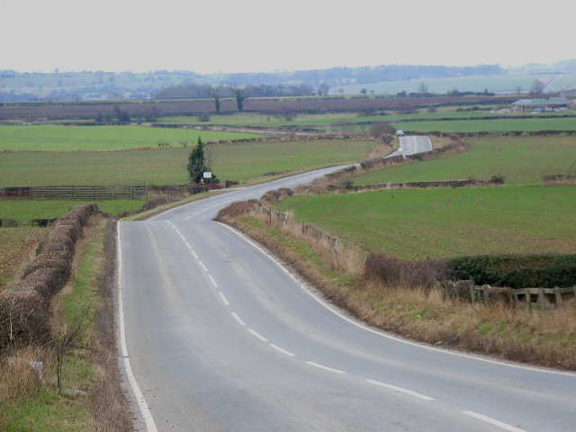 Road from Scotton to Patrick Brompton