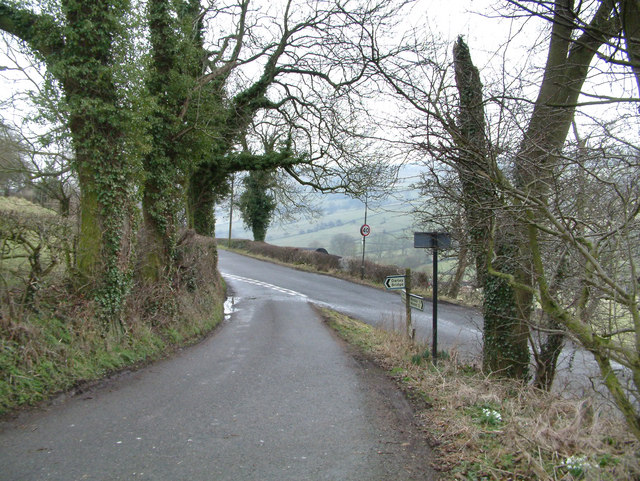 Country lanes near Oaker.