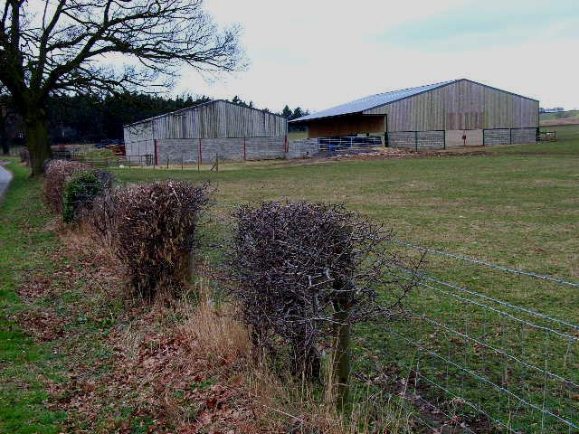 Barn near Cowling