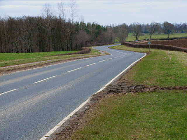 A684 east of Crakehall
