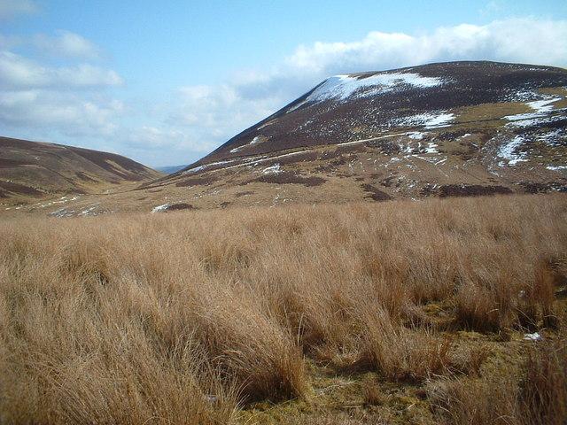 Towards Forside Hill