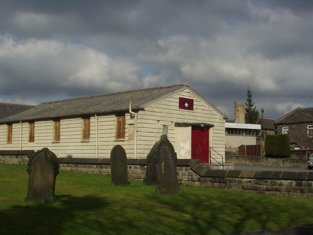 Scout Hut by St James' Church