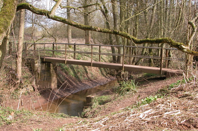 Footbridge over Dick Brook
