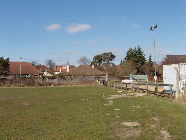 Sports ground and car park, off Horn Lane, North Acton