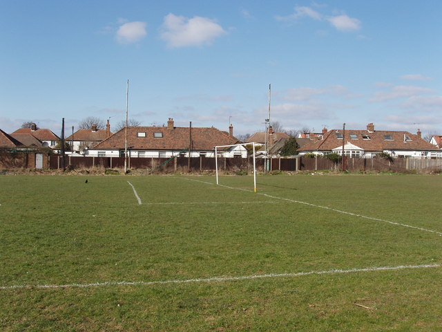 Football pitch, off Horn Lane, North Acton