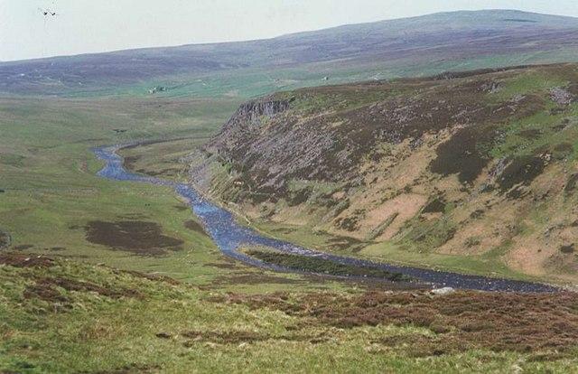 River Tees after Cauldron Snout