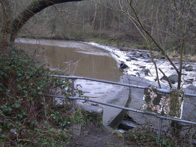 Dowies Mill weir