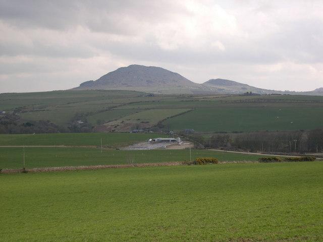 Cefnamwlch, Homefarm, Milking Parlour.