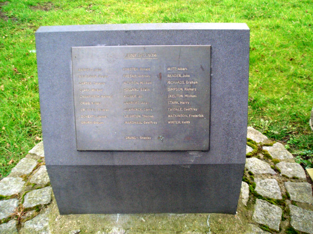 Flixborough Explosion Memorial