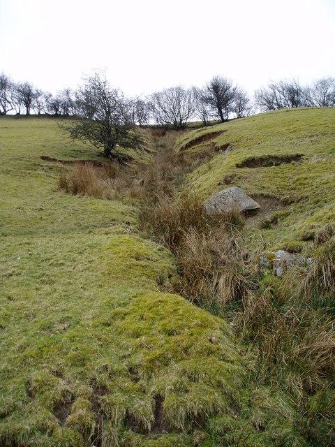 Stream near Llangower