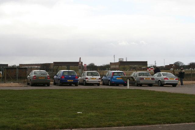 Some of the hangars at RAF Waddington