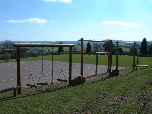 St Weonards Primary School Yard