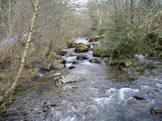 Afon Hirnant at Rhos-y-Gwalia