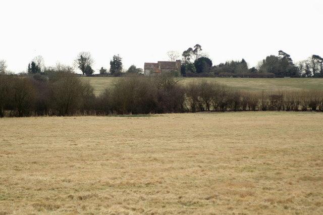 Fields near Bucket Corner