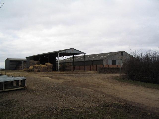Farm buildings at Macmillan Way crossing