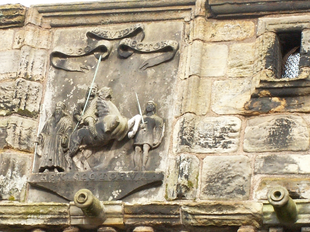 West Port detail, St Andrews