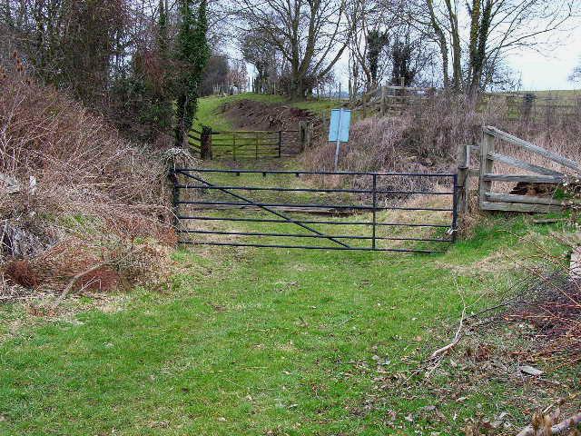 Little-used level crossing over Wensleydale Railway