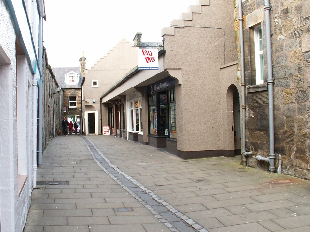Logies lane, St Andrews