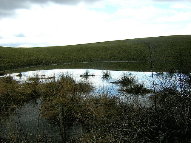 Pond Near Palacerigg Country Park