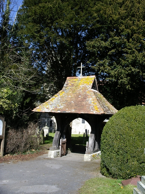 The Lychgate at Holy Trinity Church, Wonston