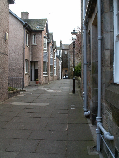 Baker Lane, St Andrews