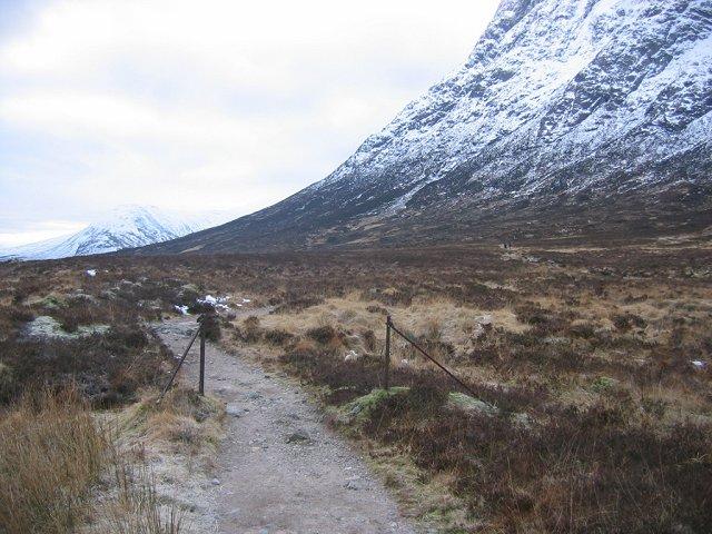 Stob Dearg path.