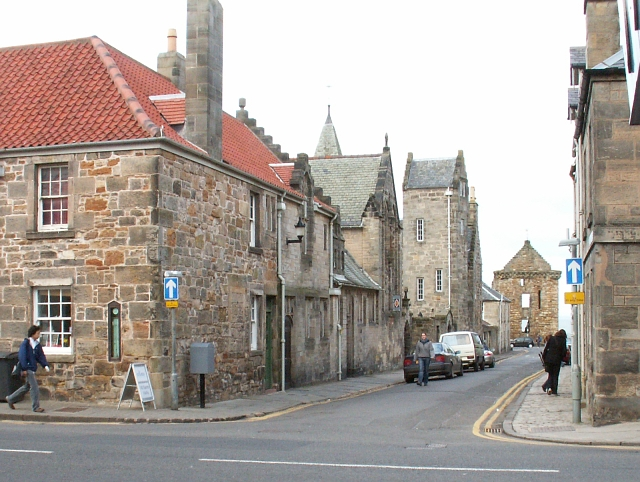 North Castle St, St Andrews