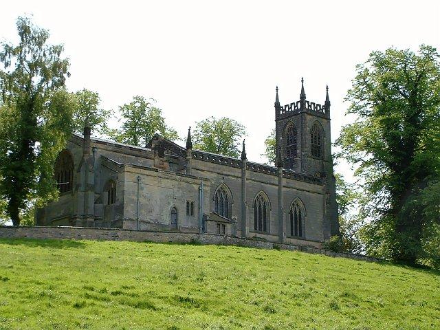 Another view of Birdsall Church.