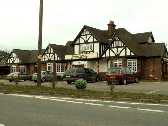 'Palm Trees' restaurant, Blake End, Essex
