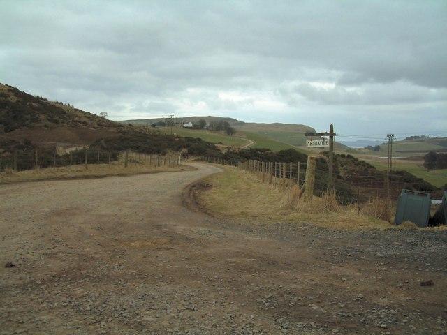 Road to Arnbathie